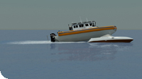boat 3d accident for litigation